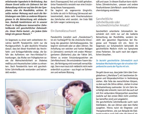 Fachartikel in der Zeitschrift CO.med